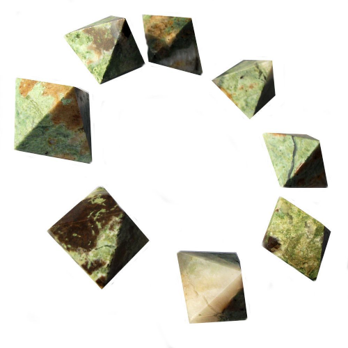 Vesuvianite Crystal Pyramid